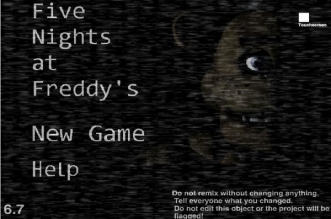 Five Nights at Freddy's 1 Online
