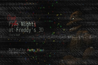 One Night(s) at Freddy's 3D (For Oculus Rift & Monitors)