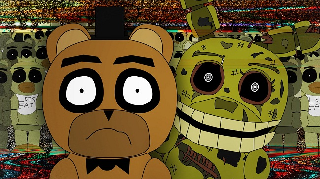 Five Nights at Freddys 3 ANIMATED
