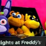 Five Nights At Freddy's Plush & Surprise Playdoh Egg & 3 FNAF Blind Bag Box