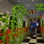 MINECRAFT XBOX | FIVE NIGHTS AT FREDDY'S 4 | FNAF SISTER LOCATION [10]