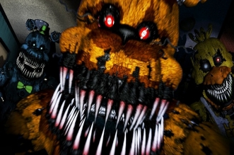 Five Nights at Freddy's 4 Power Point Edition