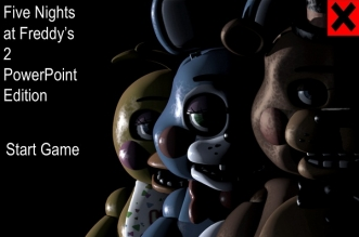Five Nights at Freddy's 2 PowerPoint Edition - By SanuRobot