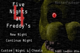 Five Nights at Freddy's 4 (Fan Made) (by Duvish Suthar)