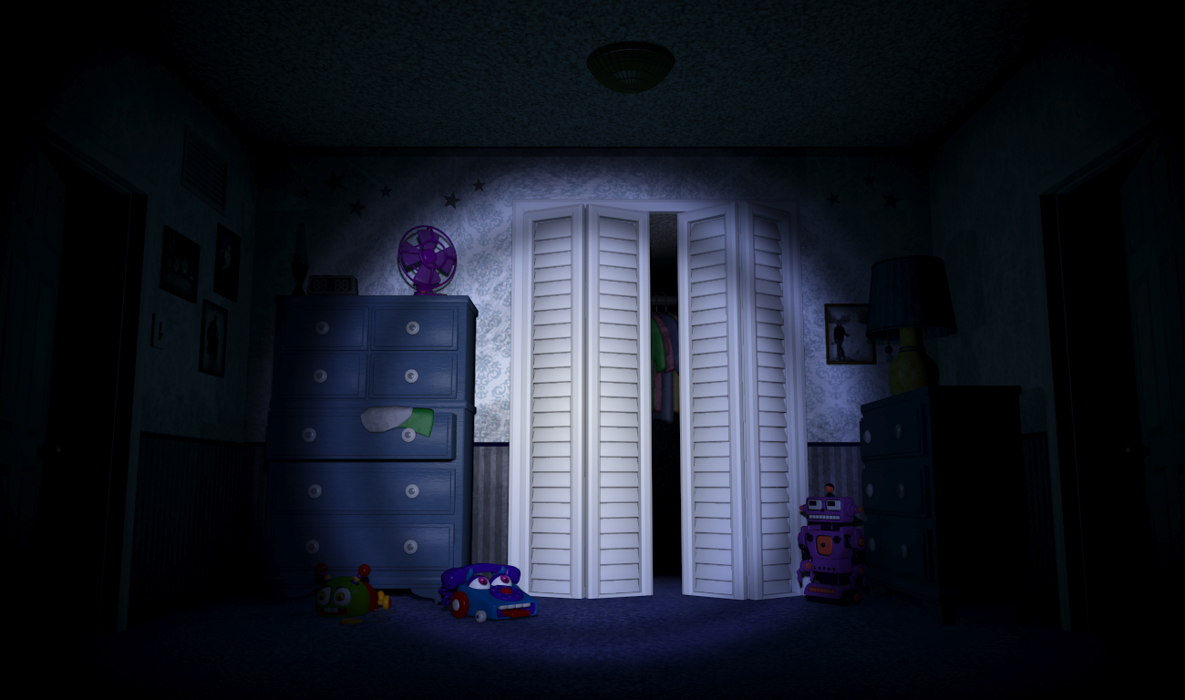 Five Nights At Freddy's 4, The Beginning FAN MADE