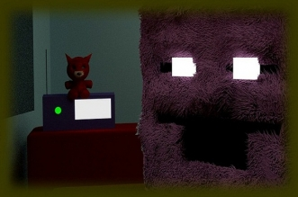 The Fluffy Purple Man's Office