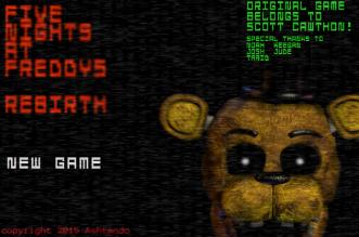 Five Nights At Freddy's Rebirth